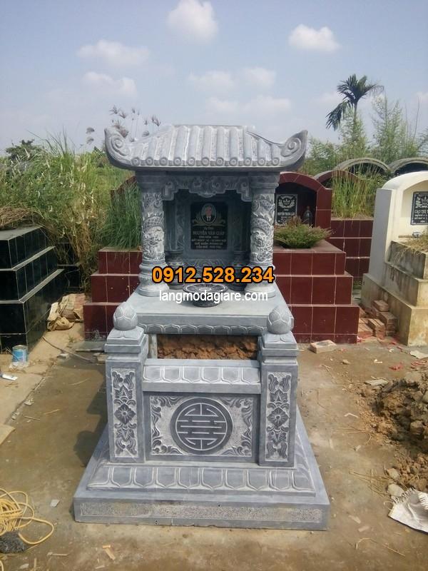 Mẫu ngôi mộ một mái đẹp tinh xảo