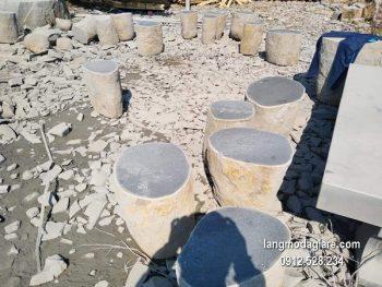Bàn ghế đá xanh đẹp chất lượng cao giá hợp lý thiết kế cao cấp