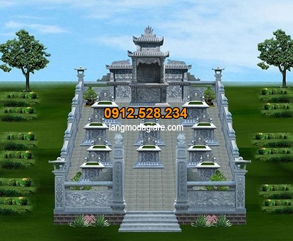 Bản thiết kế mộ đẹp chỉ có tại Ninh Vân - Ninh Bình
