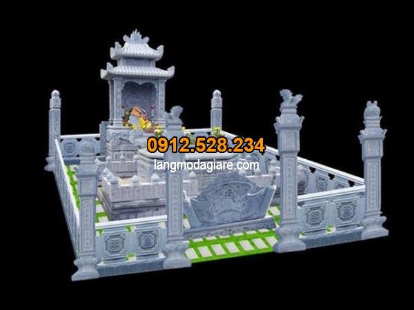 Một bản thiết kế mộ đá đẹp tại Ninh Vân