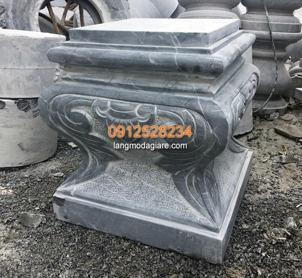 Chân cột đá vuông hong thủy năm 2019