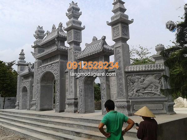 Cột cổng đá cho các công trình tâm linh