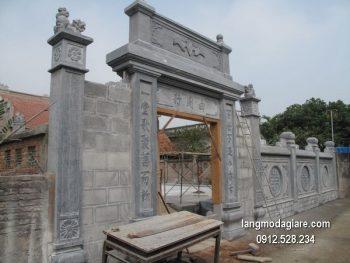 Cổng tam quan đá xanh đẹp nhất chất lượng cao giá rẻ thiết kế cao cấp