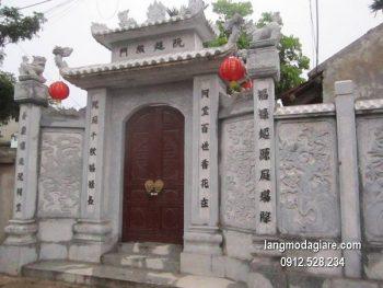 Cổng tam quan đá xanh đẹp nhất chất lượng cao giá tốt thiết kế cao cấp