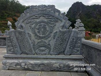 Cuốn thư đá chấn phong thủy đẹp cho nhà thờ chất lượng cao giá hợp lý