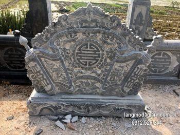 Cuốn thư đá chấn phong thủy đẹp cho nhà thờ chất lượng tốt giá rẻ