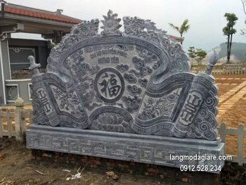 Cuốn thư đá chấn phong thủy đẹp cho đình làng chất lượng cao giá rẻ