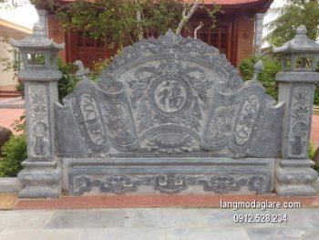 Cuốn thư đá chấn phong thủy đẹp nhất cho khu lăng mộ chất lượng cao giá hợp lý