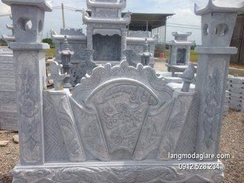Cuốn thư đá chấn phong thủy đẹp nhất cho khu lăng mộ giá rẻ