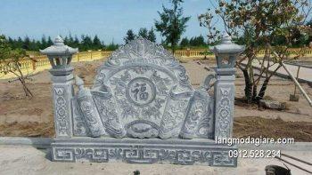 Cuốn thư đá chấn phong thủy đẹp nhất cho khu lăng mộ chất lượng tốt giá rẻ