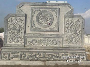 Cuốn thư đá chấn phong thủy đẹp nhất cho khu lăng mộ giá hợp lý