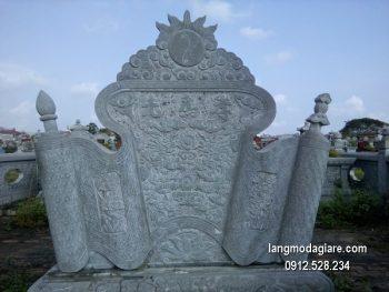 Cuốn thư đá chấn phong thủy đẹp nhất cho nhà thờ giá tốt