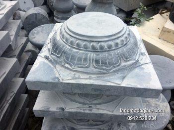 Chân tảng đá chạm khắc đẹp chất lượng tốt giá rẻ