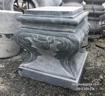 Chân tảng đá chạm khắc đẹp chất lượng tốt giá tốt