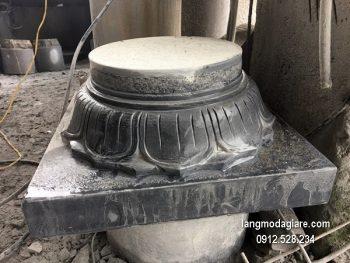 Chân tảng đá chạm khắc đẹp chất lượng tốt giá hợp lý