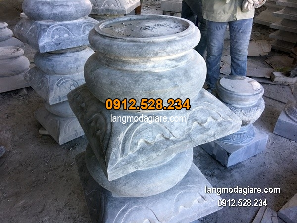 Chân tảng đá chạm khắc tinh tế chất lượng cao giá rẻ