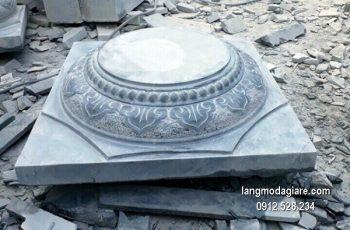Chân tảng đá chạm khắc tinh xảo chất lượng cao giá rẻ