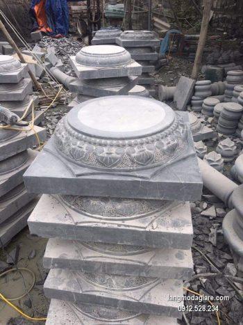 Chân tảng đá chạm khắc đẹp chất lượng cao giá rẻ