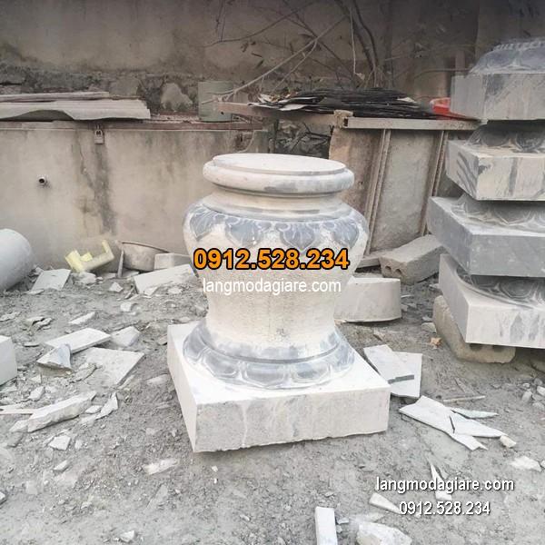 Chân tảng đá hoa văn tinh xảo chất lượng cao giá hợp lý