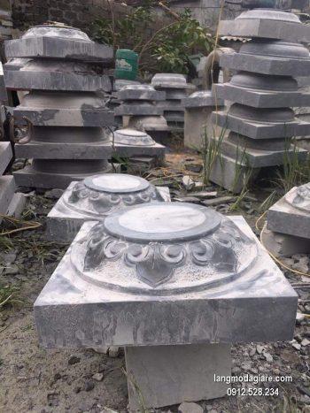 Chân tảng đá hoa văn tinh xảo chất lượng tốt giá rẻ