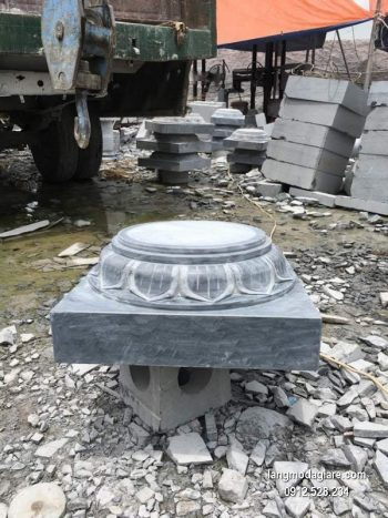 Chân tảng đá hoa văn tinh xảo chất lượng tốt giá tốt