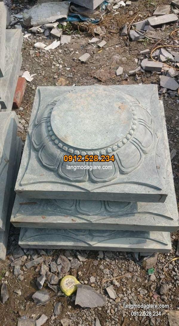 Chân tảng đá hoa văn tinh tế chất lượng cao giá hợp lý