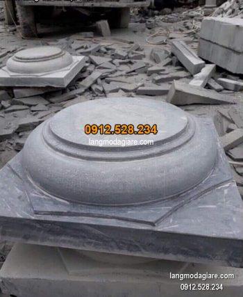 Chân tảng đá hoa văn tinh tế chất lượng tốt giá hợp lý