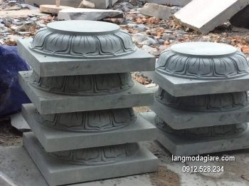 Chân tảng đá hoa văn tinh tế chịu lực tốt giá rẻ