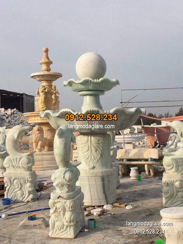 Đài phun nước bằng đá đẹp nhất chất lượng tốt giá hợp lý