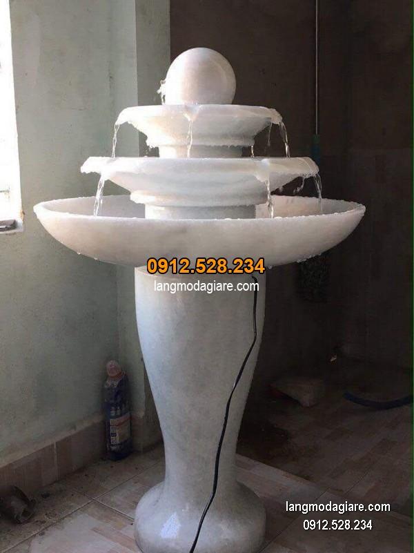 Đài phun nước bằng đá đẹp nhất thiết kế cao cấp giá rẻ