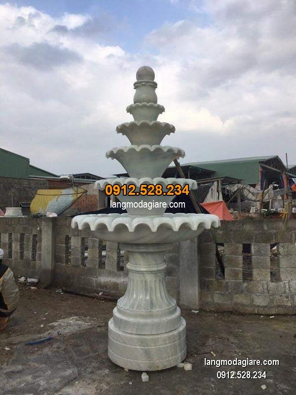 Đài phun nước bằng đá đẹp nhất thiết kế cao cấp giá tốt