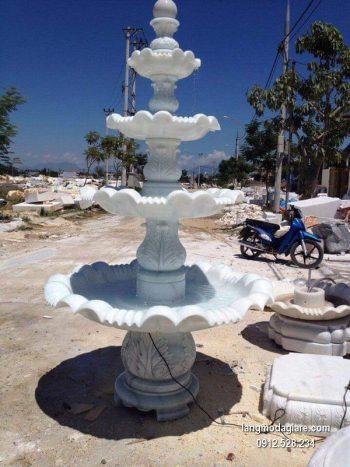 Đài phun nước bằng đá tự nhiên đẹp chất lượng cao giá rẻ