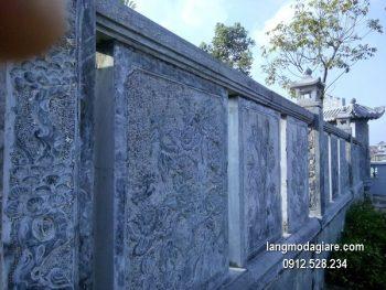Lan can đá xanh đẹp nhất chất lượng cao giá rẻ thiết kế đơn giản