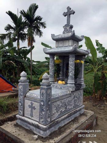 Lăng mộ đá xanh đẹp nhất chất lượng cao giá rẻ thiết kế hiện đại
