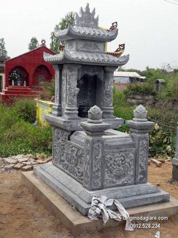 Lăng mộ đá xanh đẹp nhất chất lượng cao giá rẻ thiết kế cao cấp