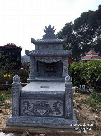 Lăng mộ đá xanh đẹp nhất chất lượng cao giá rẻ thiết kế đơn giản