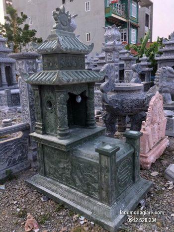 Lăng mộ đá xanh đẹp nhất chất lượng cao thiết kế cao cấp