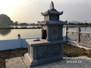 Lăng mộ đá xanh đẹp nhất chất lượng cao giá tốt thiết kế hiện đại