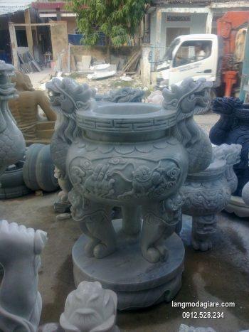 Lư hương đá xanh đẹp nhất chất lượng cao giá rẻ thiết kế hiện đại