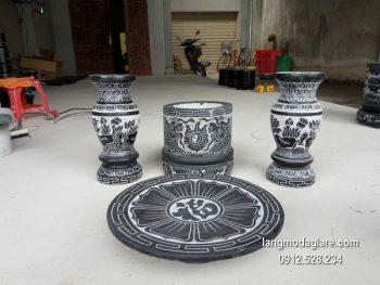 Bát hương đá đẹp chất lượng cao giá rẻ thiết kế cao cấp