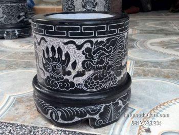 Bát hương đá đẹp chất lượng cao giá rẻ thiết kế đơn giản