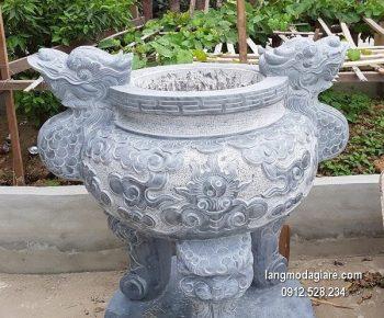 Lư hương đá xanh đẹp nhất chất lượng tốt giá rẻ thiết kế hiện đại