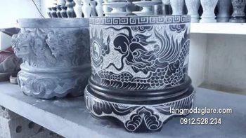 Bát hương đá xanh đẹp chất lượng cao giá tốt thiết kế hiện đại