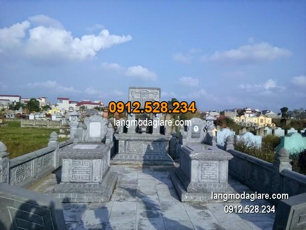 Mẫu mộ 1 mái đá xanh đẹp nhất chất lượng tốt giá tốt thiết kế đơn giản