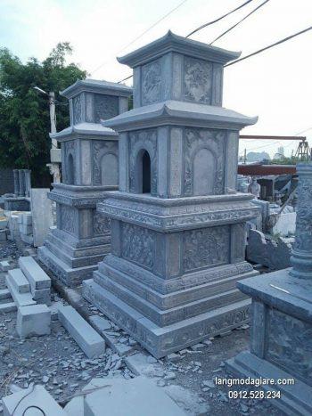 Mộ đá tháp xanh đẹp nhất chất lượng tốt giá rẻ