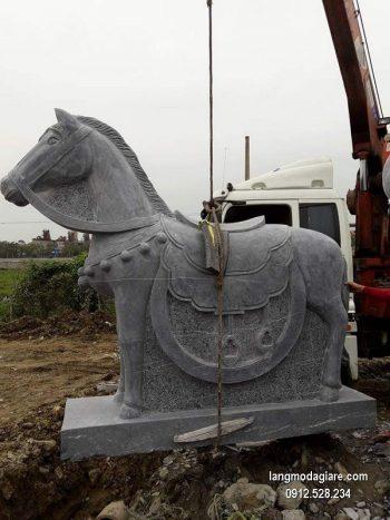 Ngựa đá phong thủy đẹp nhất chất lượng tốt giá tốt