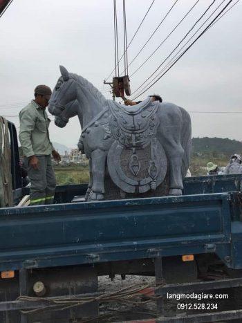 Con ngựa đá phong thủy đẹp chất lượng cao giá tốt