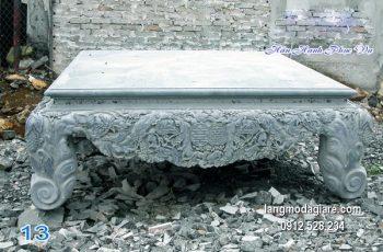 Sập đá xanh chạm khắc tinh tế chất lượng tốt giá rẻ