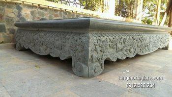 Sập đá xanh thiết kế tinh xảo chất lượng cao giá tốt