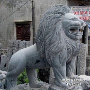 Sư tử đá xanh đẹp chất lượng tốt giá hợp lý